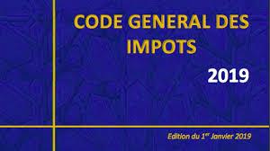 CODE GENERAL DES IMPOTS 20019